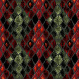 Seamless pattern of snake skin Royalty Free Stock Photos