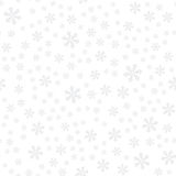 Seamless pattern snowflake-01 Royalty Free Stock Photo
