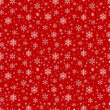 Seamless pattern with snowflake. Winter season background with snowfall. Christmas and New Year holiday print Royalty Free Stock Image