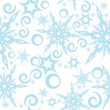Seamless pattern with snowflakes 2. You can find similar images in my gallery Royalty Free Stock Images