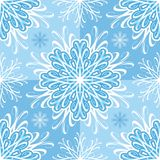 Seamless pattern with snowflakes Royalty Free Stock Images