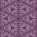 Seamless pattern of snowflakes Stock Image