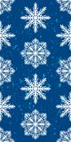 Seamless pattern of snowflakes. Christmas ornament. The festive mood Royalty Free Stock Image