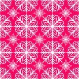 Seamless pattern of snowflakes. Christmas ornament. The festive mood Stock Images