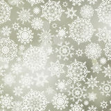 Seamless pattern with snowflakes. EPS 8 Royalty Free Stock Photography
