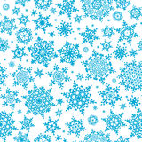 Seamless pattern of snowflakes. EPS 10 Royalty Free Stock Photos