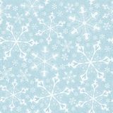 Seamless pattern with snowflakes. EPS 10 Stock Images