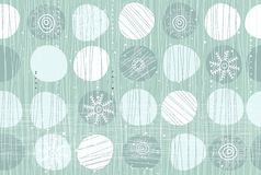 Seamless pattern with snowflakes in vector Royalty Free Stock Images