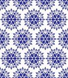 Seamless pattern from snowflakes Stock Photos