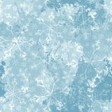 Seamless pattern with snowflakes. Vector, EPS 10 Royalty Free Stock Photo