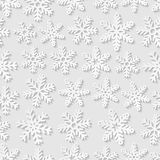 Seamless pattern with snowflakes Stock Photography