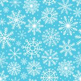 Seamless pattern with snowflakes. Vector illustration, eps stock illustration