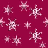 Seamless pattern with snowflakes. Vintage winter background. Christmas collection. royalty free illustration