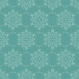 Seamless pattern with snowflakes. Royalty Free Stock Photography