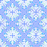 Seamless pattern with snowflakes. Winter seamless background with snowflakes Stock Photos