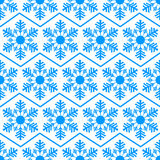 Seamless pattern from snowflakes.Winter background. Christmas template Stock Photos