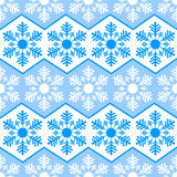 Seamless pattern from snowflakes.Winter background. Christmas template Royalty Free Stock Images