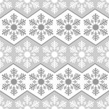 Seamless pattern from snowflakes.Winter background. Christmas template Stock Images