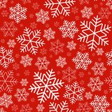 Seamless pattern with snowflakes Winter festive background on New Year and Christmas Pattern for greeting cards invitations royalty free illustration
