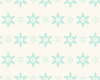 Seamless pattern with snowflakes for winter holidays design Royalty Free Stock Photo