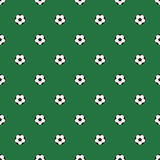 Seamless pattern soccer/Football balls. Royalty Free Stock Image