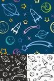 Seamless pattern Space Stock Image