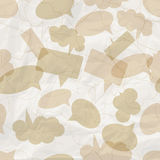 Seamless pattern with speech bubbles Stock Image