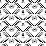 Seamless pattern with spider Royalty Free Stock Photography