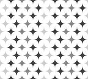 Seamless Pattern with Spiky Shapes Royalty Free Stock Photos