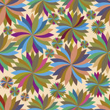 Seamless pattern with spinning tops Stock Images