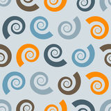 Seamless Pattern with Shells Royalty Free Stock Image