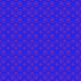 Seamless pattern spirals blue stock photo