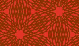 Seamless Pattern of Spirals royalty free illustration