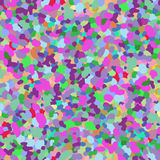 Seamless pattern with splashes of paint. Multicolor spots and blots. Stock Image