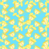Seamless pattern Sports goblet win first place  vector illustrat. Seamless pattern Sports the goblet win first place . vector illustration Stock Photo