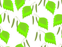Seamless pattern spring stock illustration