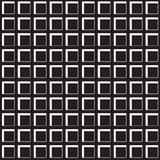 Seamless Pattern with Square Cells. Square cells seamless pattern. Continuous background of 3d cell structure. Repeating geometric texture with pseudo Stock Photo