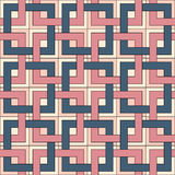 Seamless pattern of square elements. Royalty Free Stock Photography