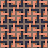 Seamless pattern of square line. stock illustration
