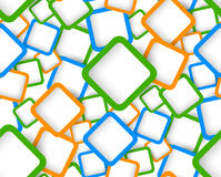 Seamless pattern with squares Stock Image