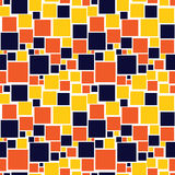 Seamless pattern with squares Stock Photo