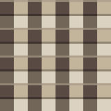 Seamless pattern of squares in beige Royalty Free Stock Photography