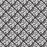 Seamless pattern of squares Royalty Free Stock Images