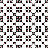Seamless pattern with squares, stars shapes. Royalty Free Stock Photo