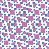 Seamless pattern with squares Royalty Free Stock Images