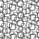 Seamless pattern with squares Royalty Free Stock Photo
