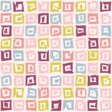 Seamless pattern. Squiggle texture. Stock Photos