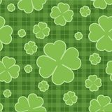 Seamless pattern St. Patrick  Day. Vector Royalty Free Stock Photo