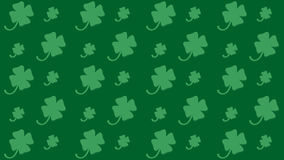 Seamless pattern for St. Patrick`s Day with shamrock Royalty Free Stock Image