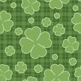 Seamless pattern St. Patricks Day. Vector. Seamless pattern St. Patricks Day clover leaf. Vector illustration Royalty Free Stock Image